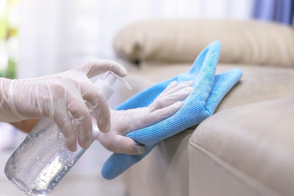 Clean house,Clean sofa,Clean concept